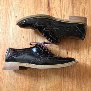 Shoes - 14th & Union Oxblood Patent Leather Oxfords Sz 7